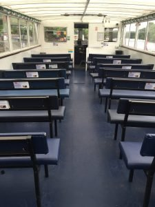Seating area Chester Boat