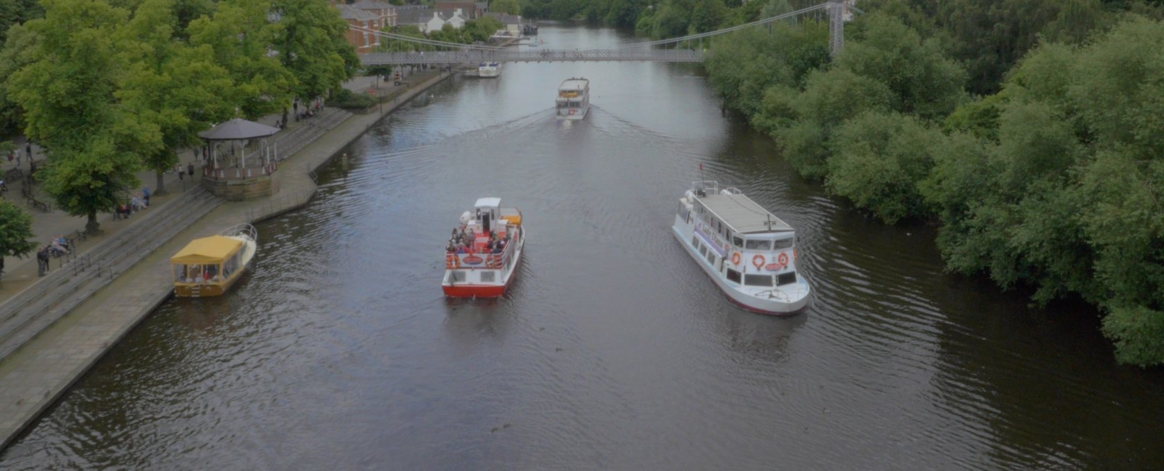 Chester Boats side by side