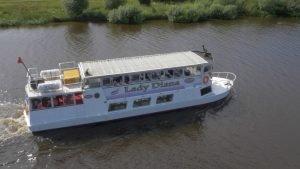 Lady Diana Sailing
